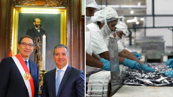 Pérez-Reyes se desempeñaba como viceministro de Mypee Industria del Ministerio de la Producción.