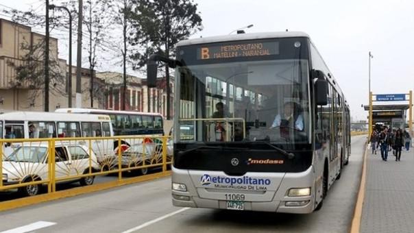 Protransporte se reunirá con los consorcios operadores del Metropolitano para evaluar alza tarifaria.