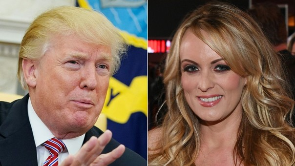 Donald Trump tuvo una relación con Stormy Daniels en el 2006, según la actriz de cine para adultos, y su abogado Michael Cohen le dio 130 mil dólares para que no lo divulgue durante la campaña presidencial del 2016.