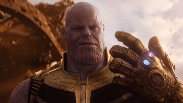 Thanos, interpretado por James Brolin, es el villano en 'Avengers: Infinity War'.