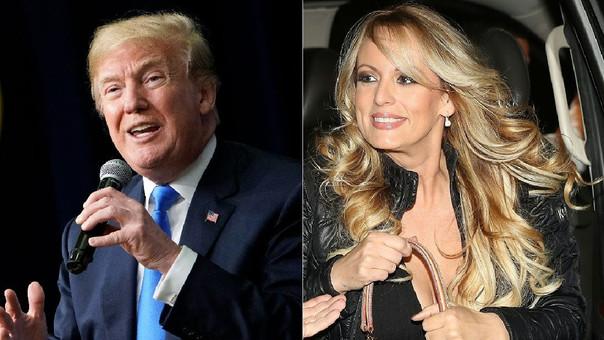 Donald Trump reconoció que el dinero para el pago de Stormy Daniels salió de su bolsillo.