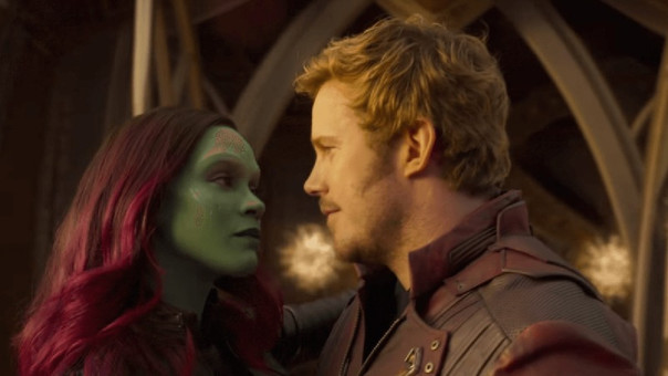 Gamora y Star Lord