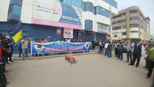 Protesta trabajadores JLO