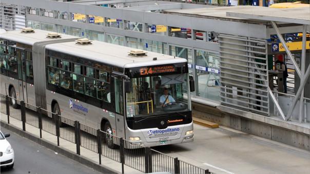 Protransporte descartó un aumento del pasaje pagado en el Metropolitano.