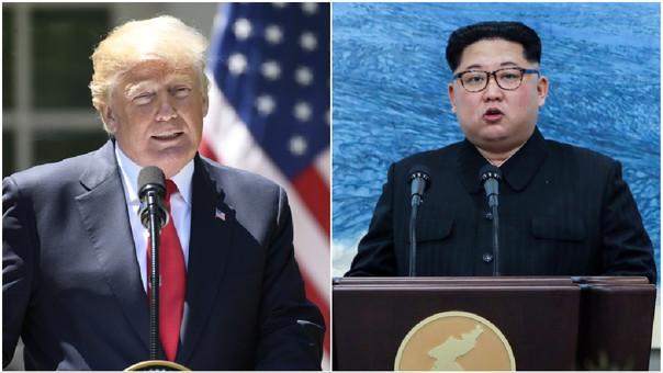 Trump anunció en marzo que había aceptado una propuesta de Kim para una cumbre entre ambos.
