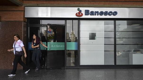 Una sede de Banesco en Caracas.