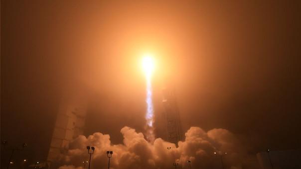 Imagen de lanzamiento de la misión InSight.