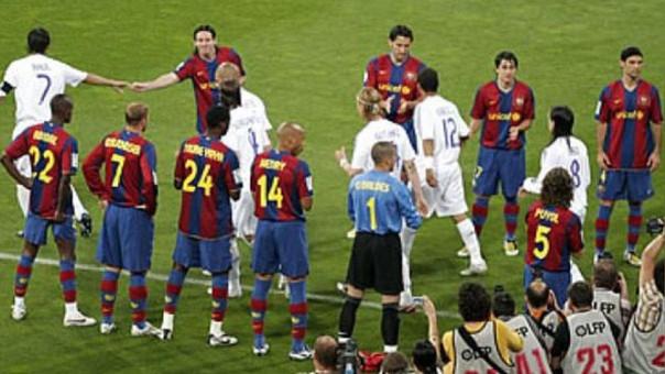 Uno de los pasillos más recordados de Barcelona a Real Madrid.