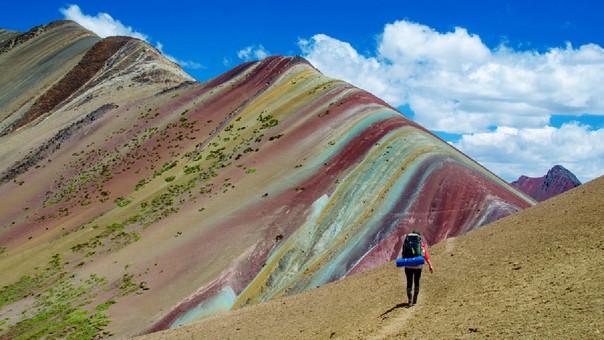 La montaña de Siete Colores (Cusco) fue descubierta hace cinco años.