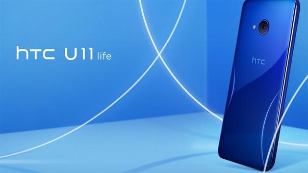 HTC U11 life.