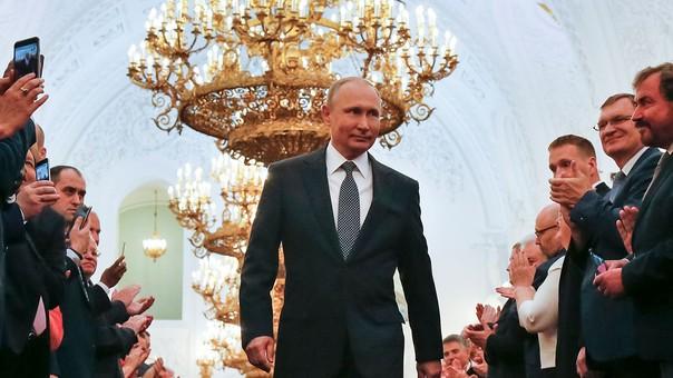 Putin asume este lunes su cuarto mandato presidencial.