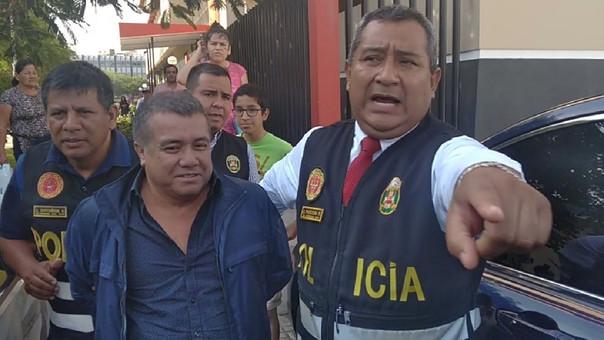 Fue llevado al penal de Chiclayo, Carlos Roncal