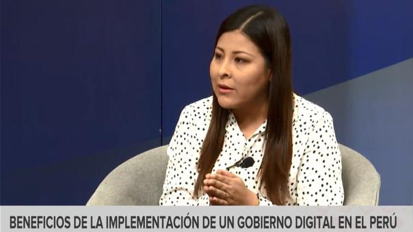 La consultora Jaddy Fernández comentó los retos de un gobierno digital en el Perú.
