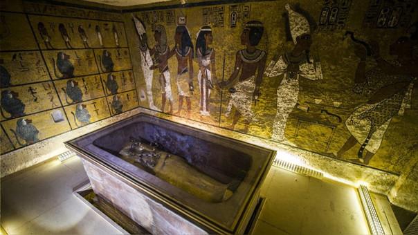 La tumba de Tutankamon se encontró en el Valle de los Reyes.