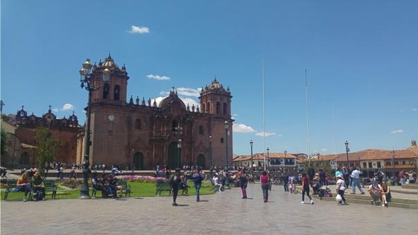 Plaza Mayor de Cusco