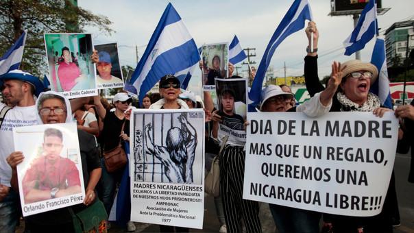 Número de muertos en manifestaciones contra Ortega llega a 47 en Nicaragua