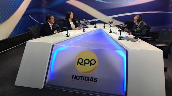 Marushka Chocobar y Fredy Vargas participaron en el primer foro Integración al Bicentenario.