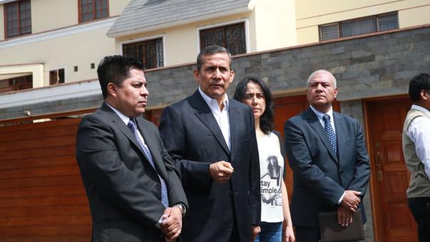 El ex mandatario precisó que su esposa, Nadine Heredia, no postulará a las elecciones presidenciales para el 2021.