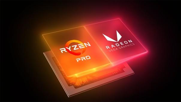 Los procesadores Ryzen PRO cuentan con Radeon Vega Graphics.
