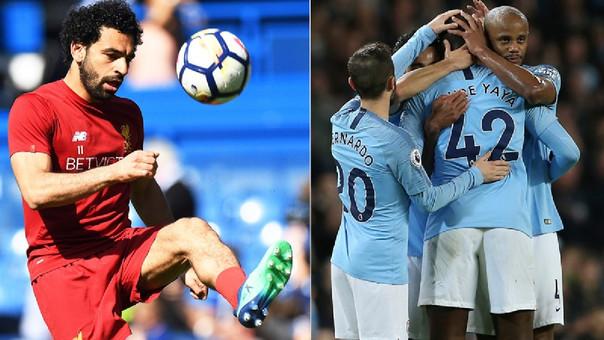Mohamed Salah y Manchester City