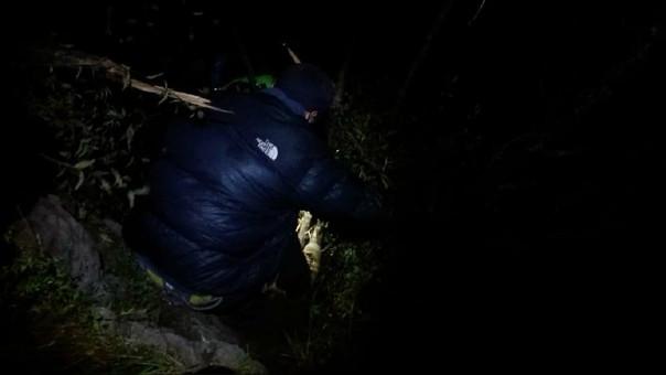Rescatan Turista alemán en Cusco