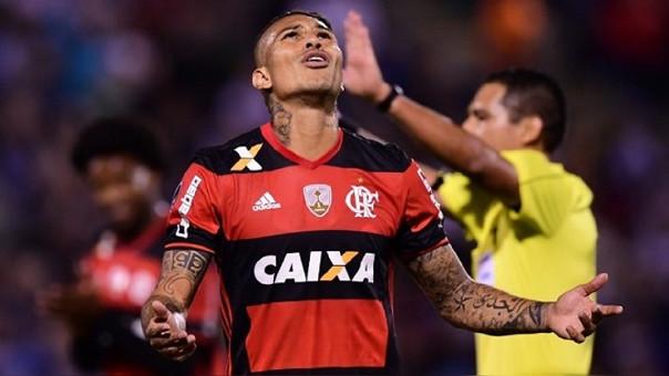 Paolo Guerrero llegó al Flamengo en el 2015.