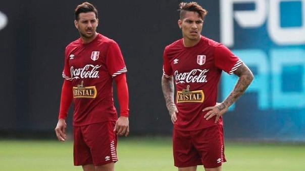 Paolo Guerrero y Claudio Pizarro coninsidieron por primera vez en el Bayern Munich.