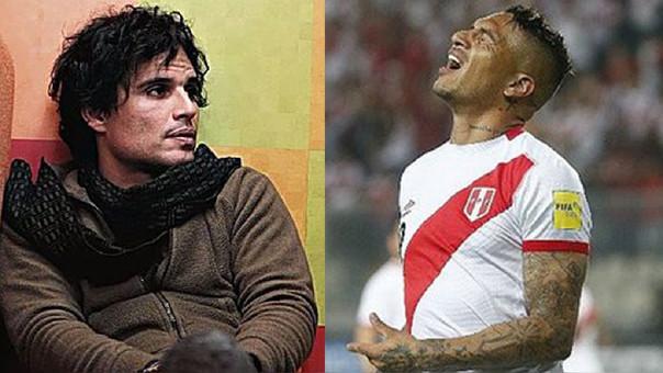 Pedro Suárez-Vértiz y Paolo Guerrero