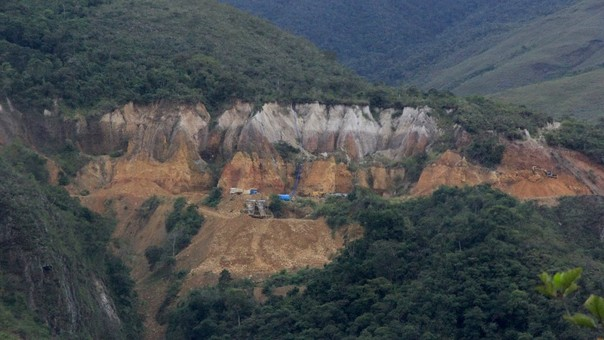 Minería ilegal acecha la zona sur del parque Bahuaja Sonene