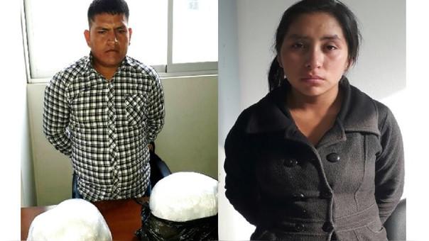 Intervienen a pareja con 10 kilos de PBC en Laredo