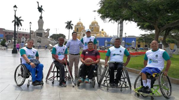 Peruanos y venezolanos integran Selección de Básquet Inclusivo en Trujillo