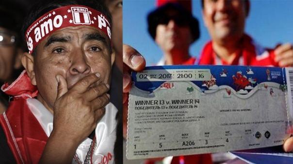 Los hinchas peruanos son el décimo país que más entradas han comprado para el Mundial Rusia 2018.