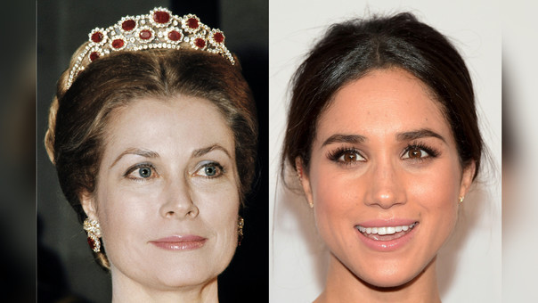 Grace Kelly y Meghan Markle