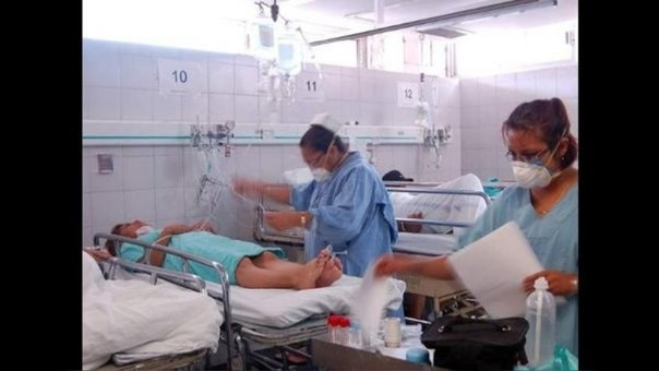Infecciones respiratorias se incrementan en Trujillo