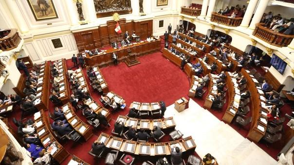 Pleno del Congreso de la República.