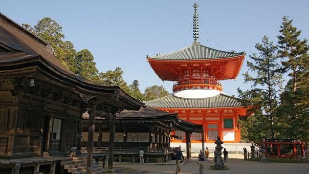 Un templo budista en Japón.
