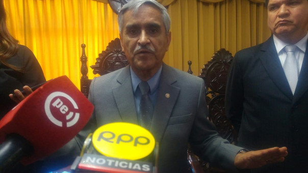 Presidente del Poder Judicial en Chiclayo