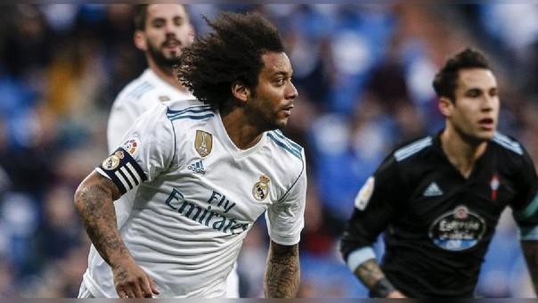 Marcelo tiene contrato con el Real Madrid hasta junio del 2022.