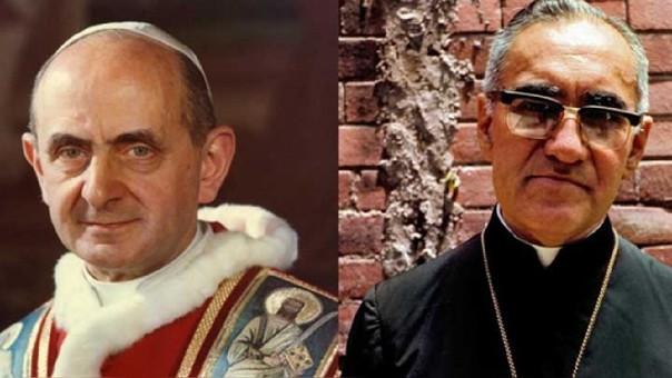 Pablo VI y Monseñor Romero