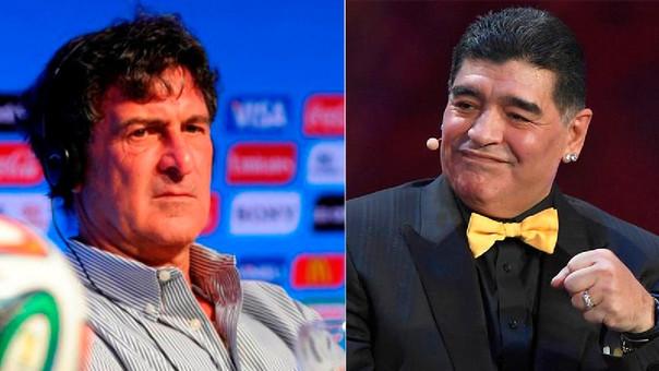 Mario Kempes y Maradona