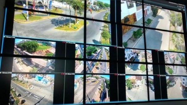 Instalan 71 cámaras de seguridad en Víctor Larco