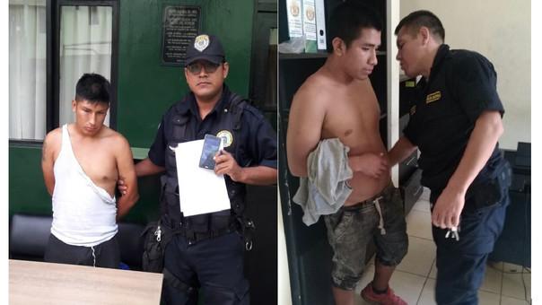 Caen jóvenes denunciados por robar teléfonos celulares en Trujillo