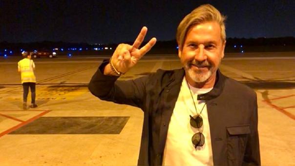 El cantante ofrecerá esta noche un concierto en Barranquilla.