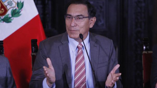 El jefe de Estado reconoció la labor que realizó Barreto en temas de Derechos Humanos.