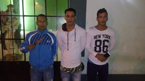 Los tres detenidos son venezolanos