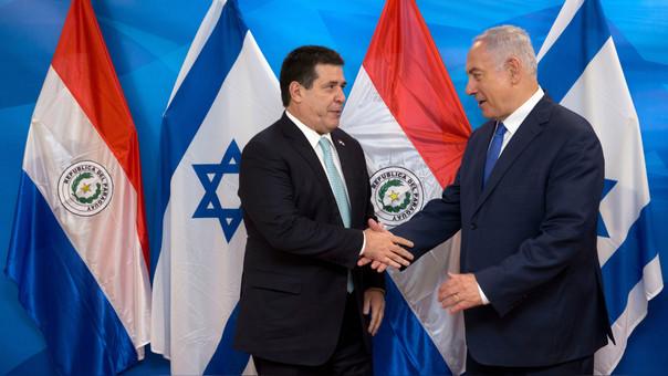 ISRAEL-PARAGUAY-DIPLOMACY-EMBASSY