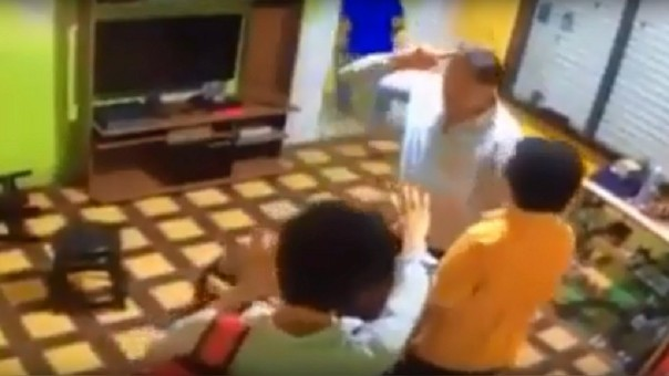 Captura vídeo de agresión