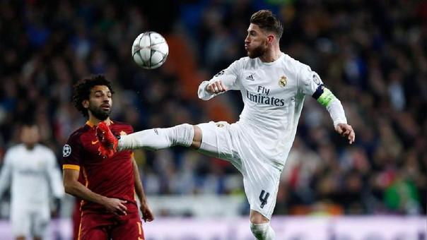 Sergio Ramos es el capitán y referente en defensa del Real Madrid.