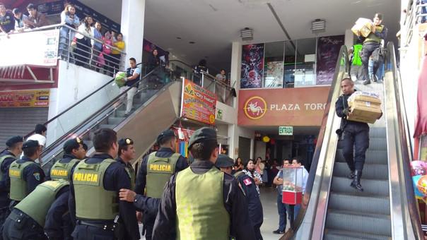 En S/377 mil valorizan mercadería incautada en centro comercial de Trujillo
