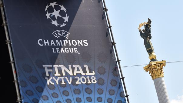 Amenaza de bomba en Kiev — Champions League